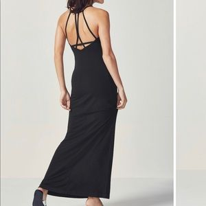 Evelyn maxi strapped summer dress